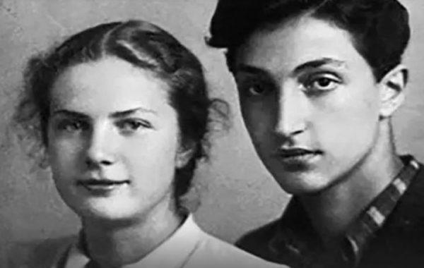 Михаил Козаков и Грета Таар