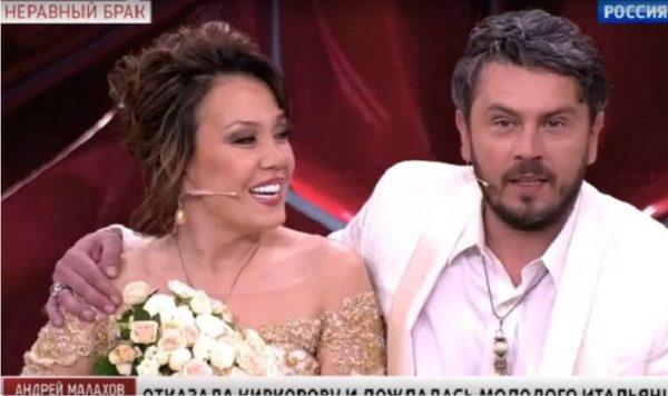 Кадр из передачи Андрея Малахова