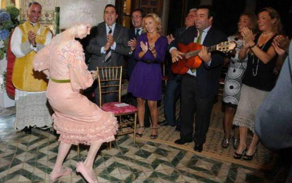 Герцогиня очень любила танцевать.