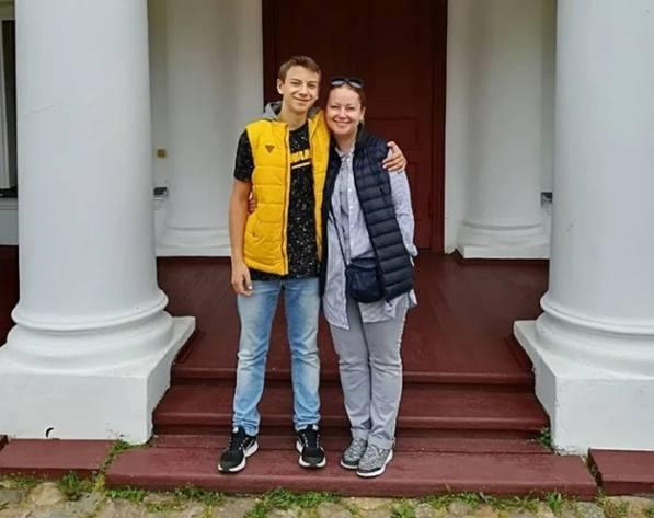 Ольга Будина и Наум Наумов в 2021 году. Фото Инстаграм