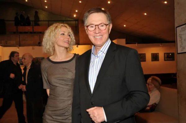 Евгений Меньшов с третьей супругой Ольгой Грозной