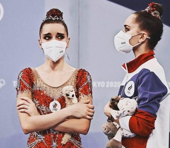 Сёстры Аверины на Олимпиаде. Фото