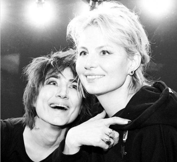 Земфира и Рената Литвинова. Фото Инстаграм