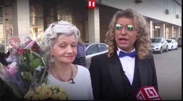 Гоген Солнцев и Екатерина Терешкович, фото:csn-tv.ru