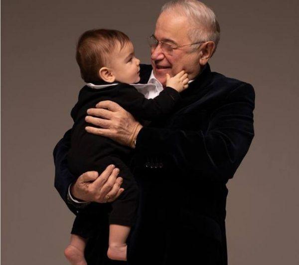 Евгений Петросян с сыном. Фото Инстаграм