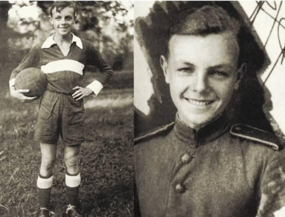 Кирилл Лавров в юности. Фото uznayvse.ru