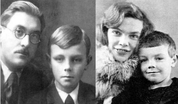 Кирилл Лавров с родителями. Фото
