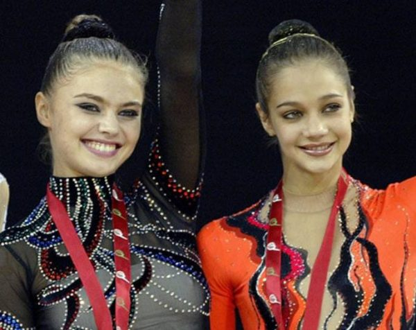 Алина Кабаева и Ирина Чащина. Фото