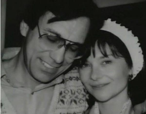 Кончаловский и Маша Мериль. Фото