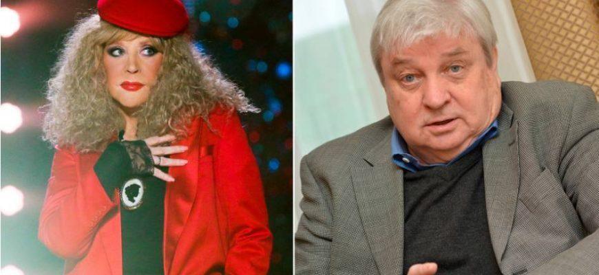 Алла Пугачёва и Александр Стефанович. Коллаж из открытого доступа