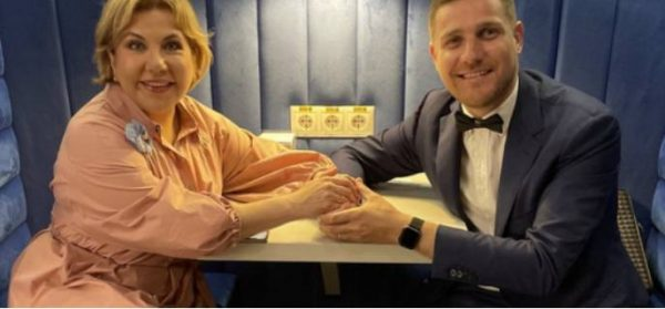 Марина Федункив с третьим мужем. Фото Вокруг ТВ