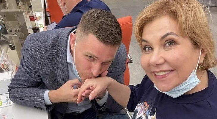 Марина Федункив и Стефано Маджи. Фото uznayvse.ru