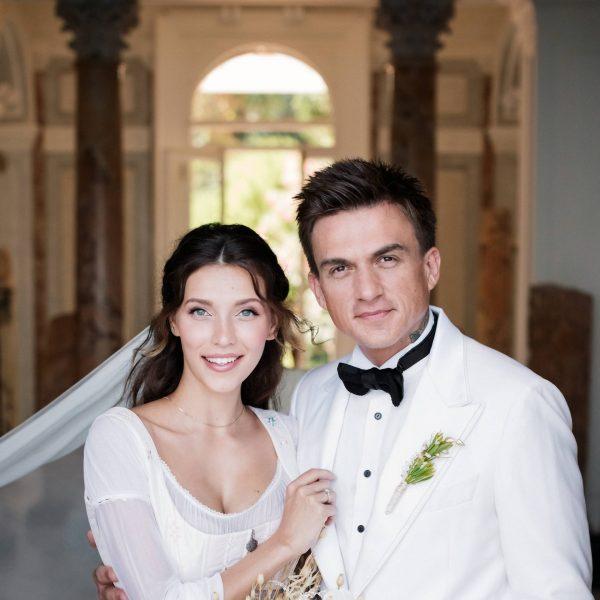 Регина Тодоренко и Влад Топалов, фото:glamour.ru