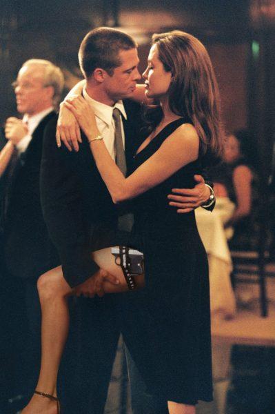 "Брэд Питт, Анджелина Джоли, фото: кадр из фильма ""Мистер и миссис Смит"""
