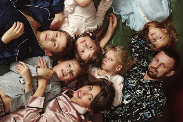 Сергей Семак с детьми