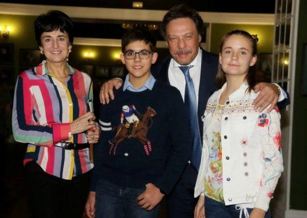 Михаил Барщевский семейное фото