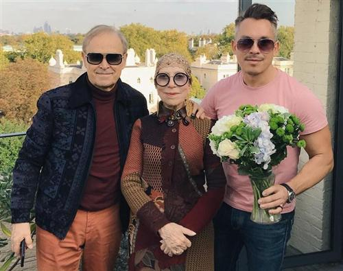 Семейное фото Инны Чуриковой