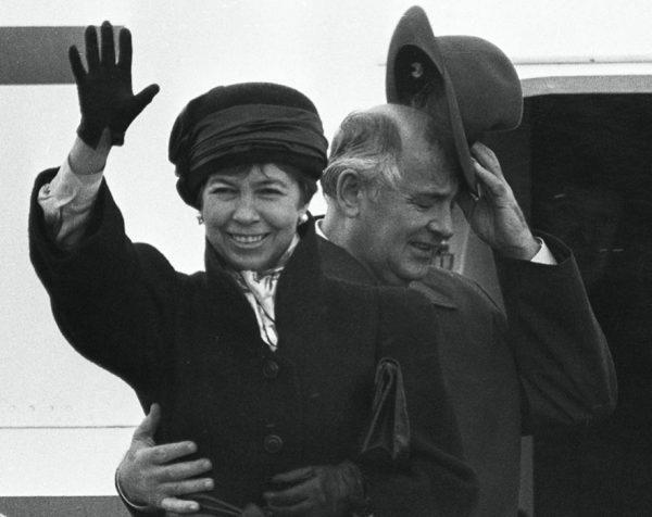 Раиса и Михаил Горбачевы. Фото livejournal