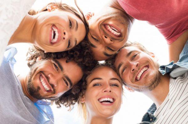 Счастливые лица