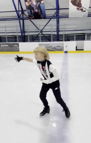 Гном Гномыч на льду