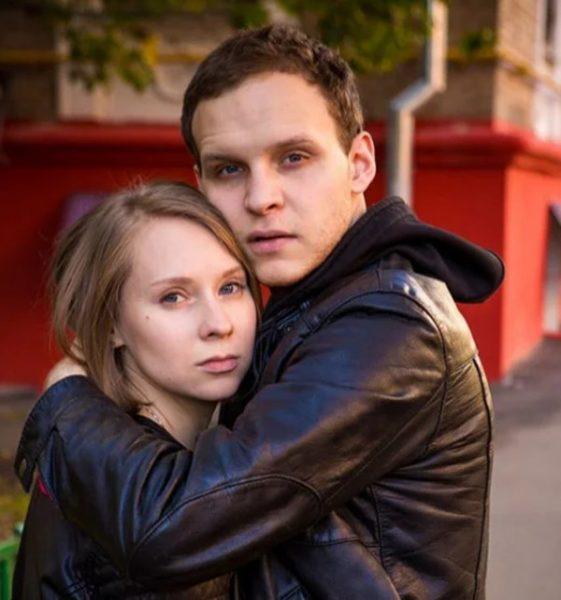 Данил Стеклов с женой