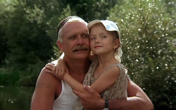 Никита Михалков с дочкой