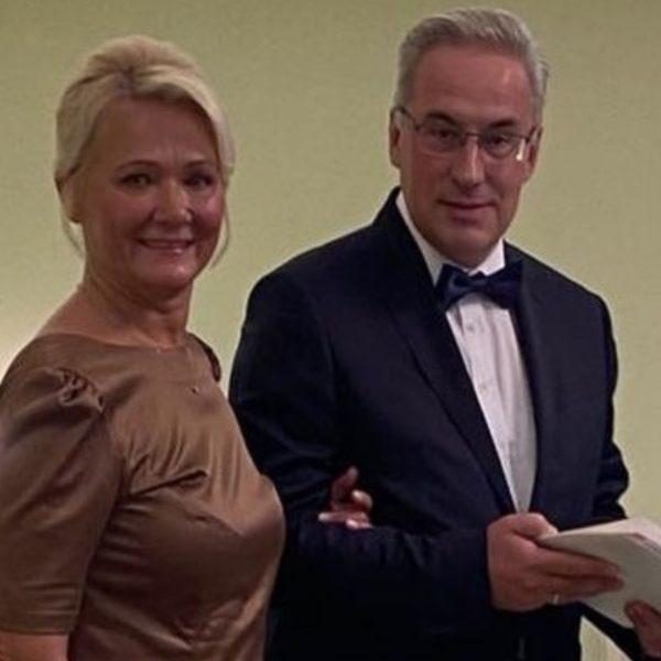Андрей Норкин с женой
