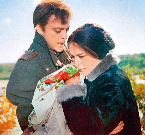 Владислав Дворжецкий и Нонна Мордюкова