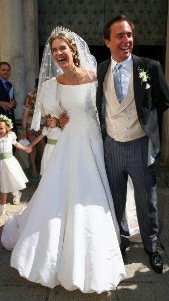 Мария Анунциата и Эмануэле Мусини венчались 4-го сентября