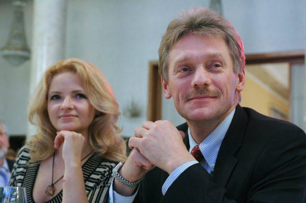 Екатерина Солоницкая и Дмитрий Песков, nn.ru