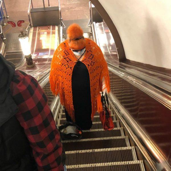 Необычные люди в метро, фото:dosuga.net