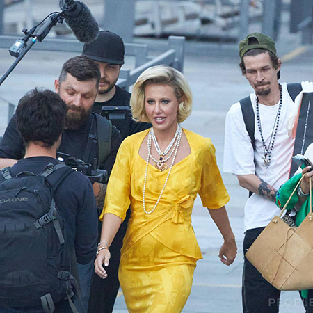 Кения Собчак на свадьбе Моргенштерна, фото: sigma-z.ru