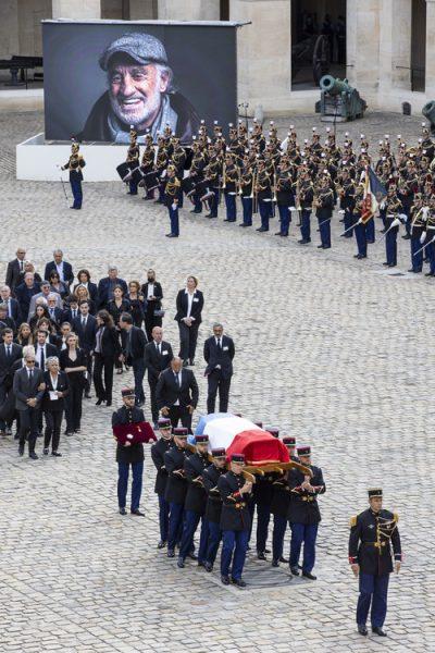 Прощание с Жан Полем Бельмондо, фото:kazan.bezformata.com