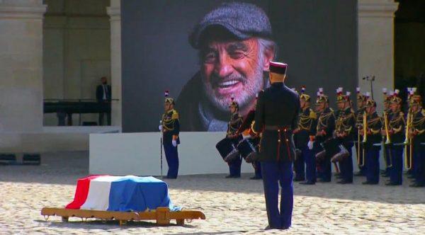 Прощание с Жан Полем Бельмондо, фото:stena.ee