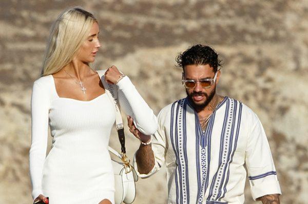 Тимати и Саша Дони в Греции. Фото spletnik.ru