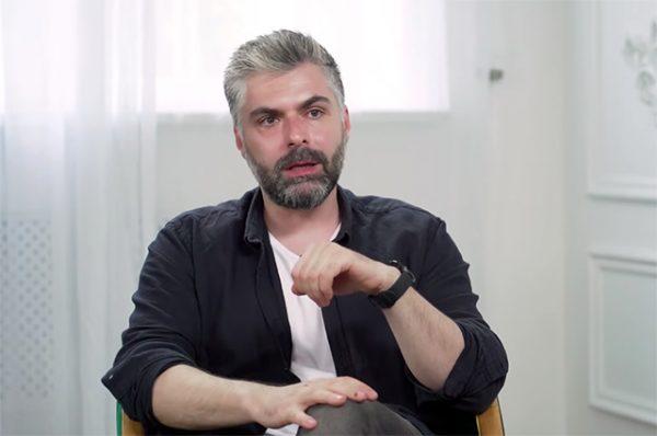 """Дмитрий Исхаков, кадр из передачи """"Осторожно, Собчак!"""""""
