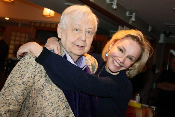 Марина Зудина и Олег Табаков, фото:kino-teatr.ru