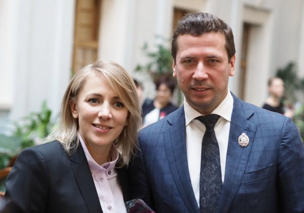 Андрей Мерзикин с женой, фото:goodhouse.ru