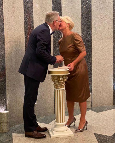 Андрей Норкин женился