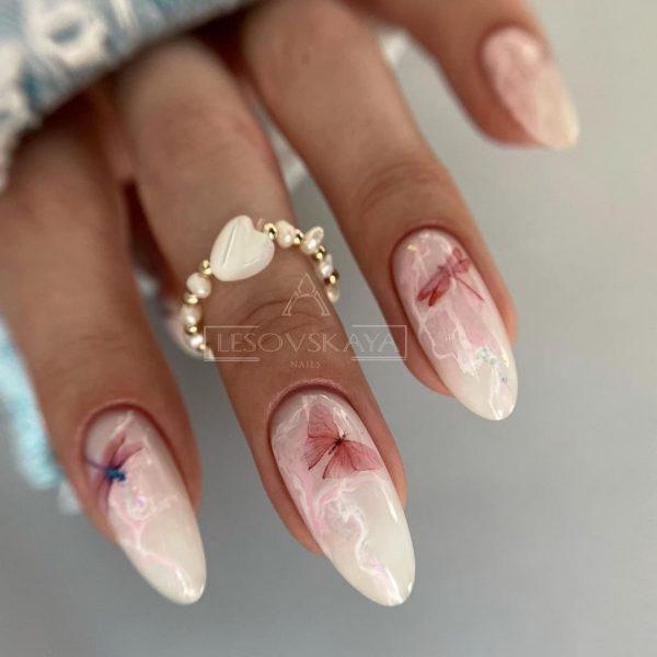 Оригинальные осенние рисунки на ногтях - последние тенденции и тренды сезона 2021-2022, фото стильного маникюра