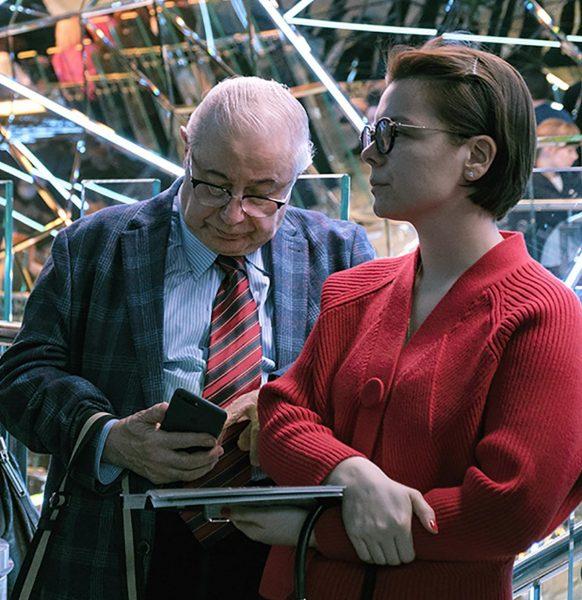 Татьяна Брухунова и Евгений Петросян, фото:tvcenter.ru