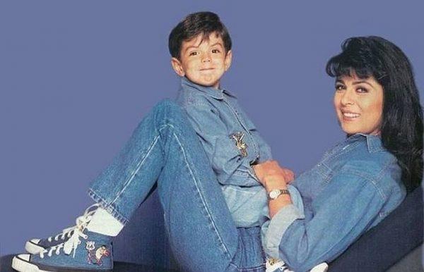 Виктория Руффо с сыном. Фоо из открытого доступа