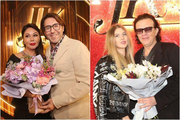 Андрей Малахов с Юлией Корелиной, Рома Жуков с женой, фото: соцсети