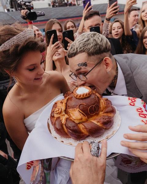 Свадьба Моргненштерна, ФОТО::tykrasotka.ru