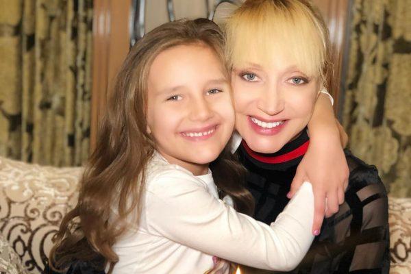 Кристина Орбакайте с дочерью, фото:goodhouse.ru