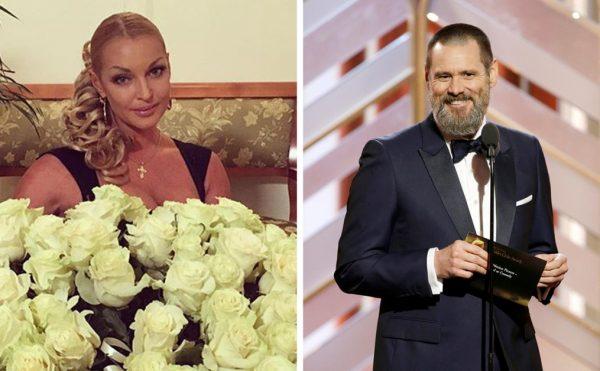 Анастасия Волочкова и Джим Кэрри, фото:mamaplus.md