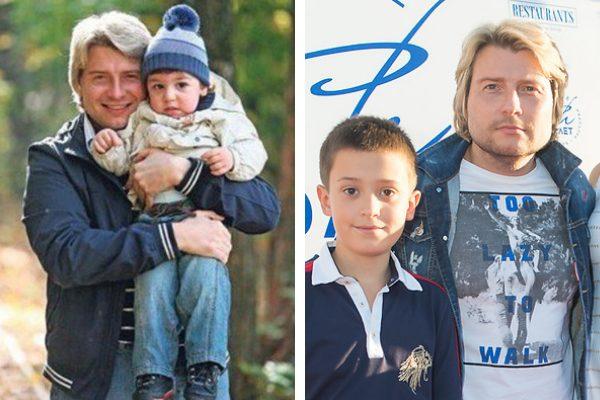 Николай Басков с сыном