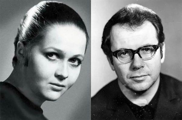 Наталья Гундарева и Леонид Хейфец