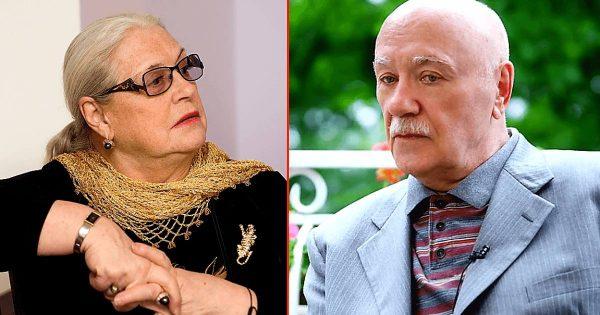 Леонид Куравлёв и Лидия Федосеева-Шукшина, фото:pic-words.com