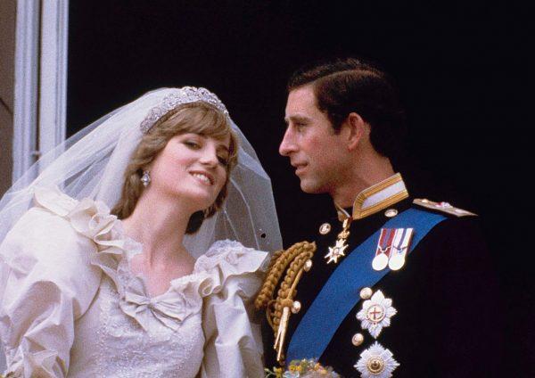 Свадьба принца Чарльза и принцессы Дианы. Фото